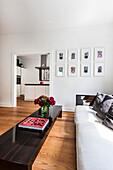 Modern living room, Hamburg, Germany