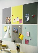 Magnetic pinboard