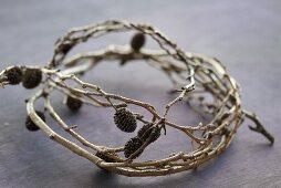 An alder wreath