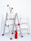verschiedene reinigungsmittel f r die k che essig natron zitrone bild kaufen living4media. Black Bedroom Furniture Sets. Home Design Ideas