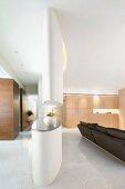 Countertop in modern interior