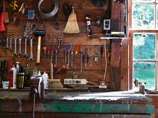 Work Bench and Tools
