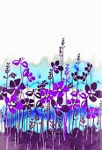 Wildflower design (print)