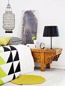 Oriental, refined bedroom