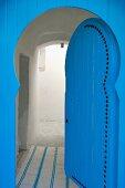 Blue, North-African door
