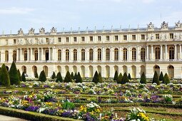 The Garden of the Palace of Versailles