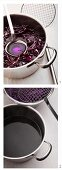 Making dye using red cabbage (for dying eggs)
