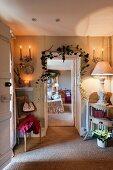 Candlelit foyer