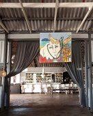 Bar im Restaurant Grand Africa Café & Beach, Kapstadt, Südafrika