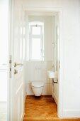 Toilet in period apartment