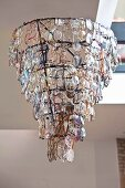 Chandelier made from spectacles