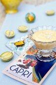 Lemon cream with meringue (Campania, Italy)