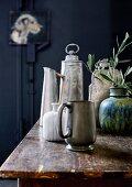 Sammlung aus Vasen in verschiedenen Formen