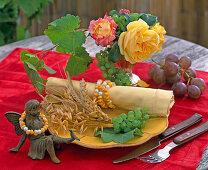 Zea (corn), Vitis (wine), Rosa (rose), Triticum