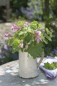 Alchemilla mollis and Aquilegia bouquet