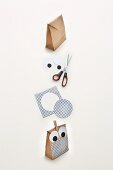 How to make an owl gift bag