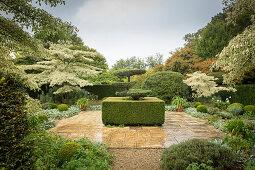 Topiary garden (Les Jardins de Castillon, France)