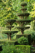 Topiary garden (Les Jardin de Castillon, France)