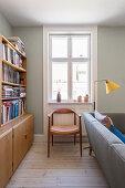 Period living room in retro Scandinavian style
