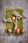 Ostereier mit Waldtiermotiv