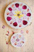 DIY floral mandalas