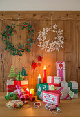 Ideas for Christmas decorations made from paper