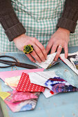 Making your own seed bags out of paper