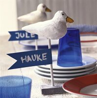 Seagull place-cards