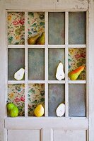 Pears used as door decoration