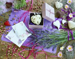 Lavender decoration for Mother's Day
