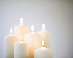 Six Burning Candles