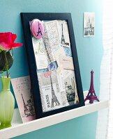 A memory collage of Paris