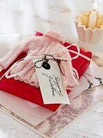 Hand-made shopping gift voucher