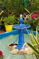 Fountain in Arabian garden