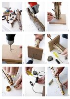 DIY - building a table lamp