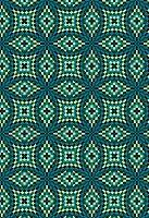 Pixellated mosaic pattern (print)