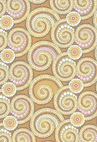 Spiral mosaic pattern (print)