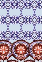 Classical floral design (print)