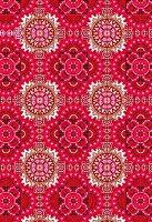 Pink geometric pattern (print)