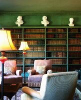 19th century Home Library