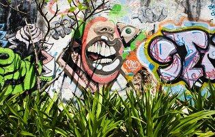 Graffitimalerei (Rio de Janeiro, Brasilien)