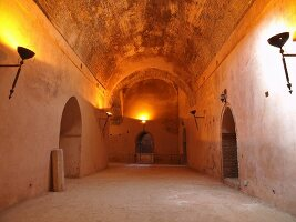 The Heri es-Souani granary in Meknès, one of the four royal cities of Morocco