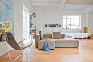 Urban, designer loft apartment