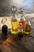 Body oils with minerals