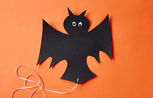 Hanging Bat for Halloween