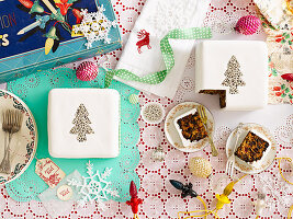 Celebration Christmas Nut and Fruit Cakes