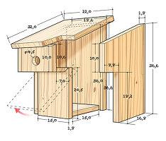 Instructions for making nesting box