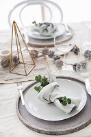 Christmas Lunch Table setting
