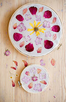 DIY Blumen-Mandala