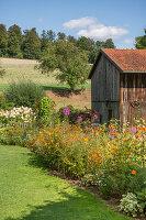 Spätsommer im ländlichen Garten